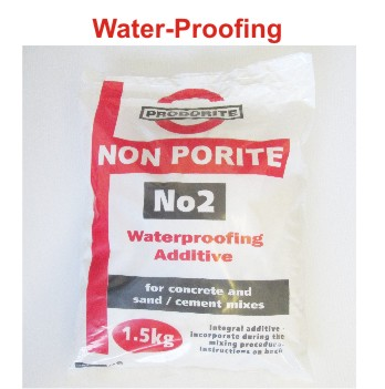 Nonporite Water-proofing