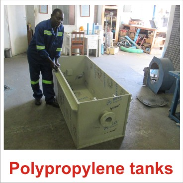 polypropylene fabrication